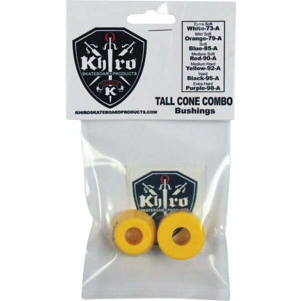 Khiro Tall Cone Medium Hard Bushings