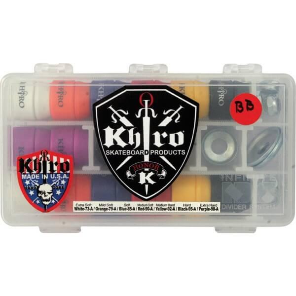 Khiro Small Cone / L-Barrel Combo Skateboard Bushing Kit