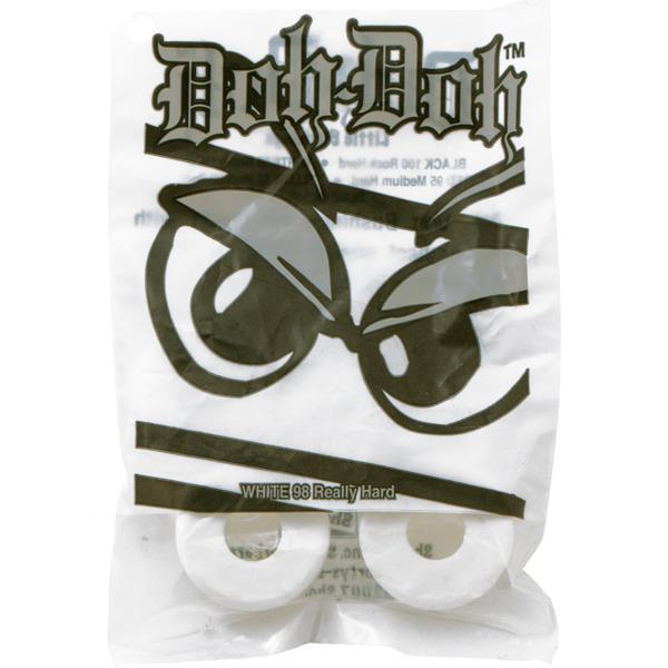 Shortys Skateboards Doh Doh White Bushing Set 2 Pair - 98a