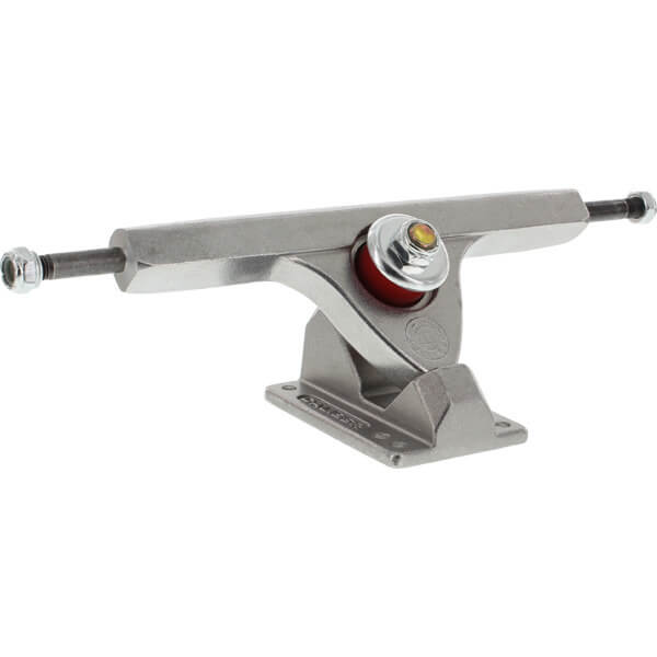 "Caliber Trucks 10"" II Fifty Caliber Polished Skateboard Reverse Kingpin Trucks 50 Degree Baseplate - 7.25"" Hanger 10.0"" Axle (Set of 2)"