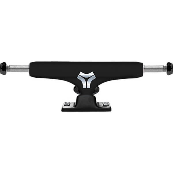 "Destructo Trucks D1 Low Black Skateboard Trucks - 5.0"" Hanger 7.75"" Axle (Set of 2)"