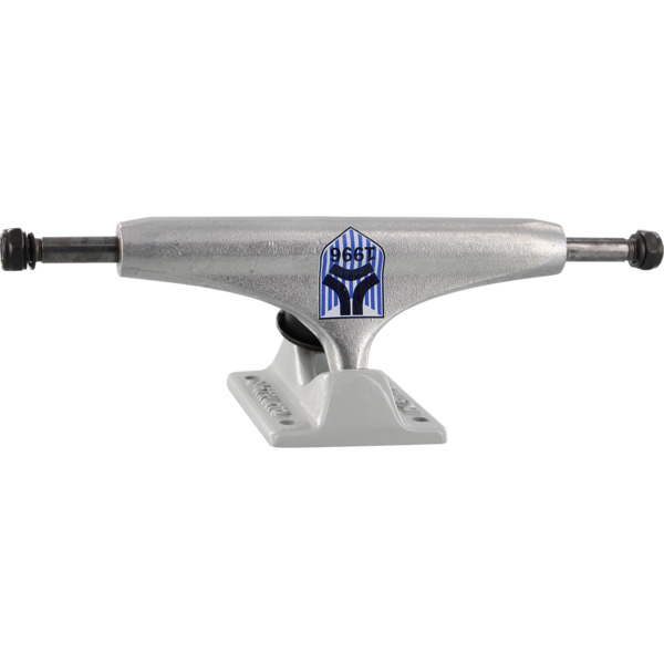 "Destructo Trucks D1 Mag Team Lite Silver / Grey Skateboard Trucks - 5.5"" Hanger 8.25"" Axle (Set of 2)"