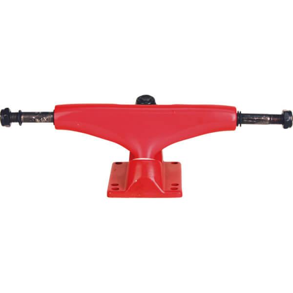 "Essentials Red Skateboard Trucks - 5.0"" Hanger 7.75"" Axle (Set of 2)"