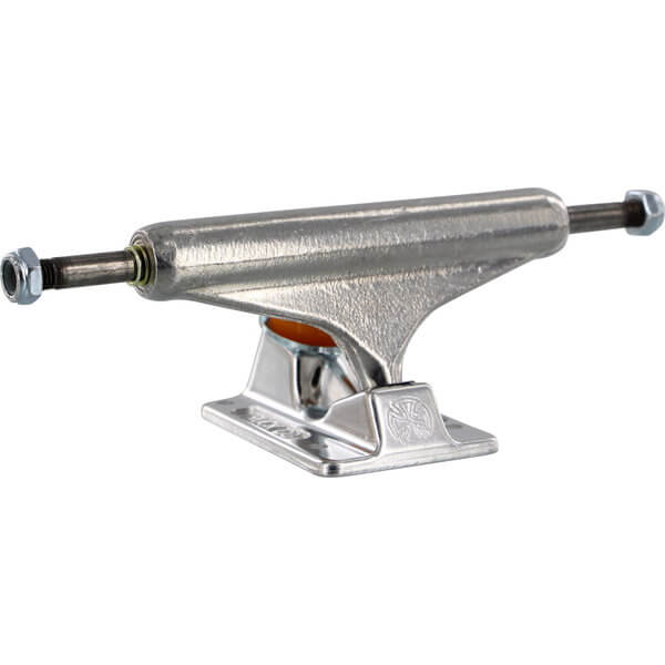 """Independent Stage 11 - 139mm Forged Hollow Standard Silver Skateboard Trucks - 5.39"""" Hanger 8.0"""" Axle (Set of 2)"""
