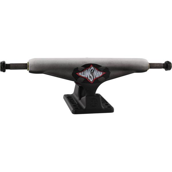 "Independent Evan Smith Stage 11 - 159mm Warped Cross Standard Black Fade Skateboard Trucks - 6.14"" Hanger 8.75"" Axle (Set of 2)"