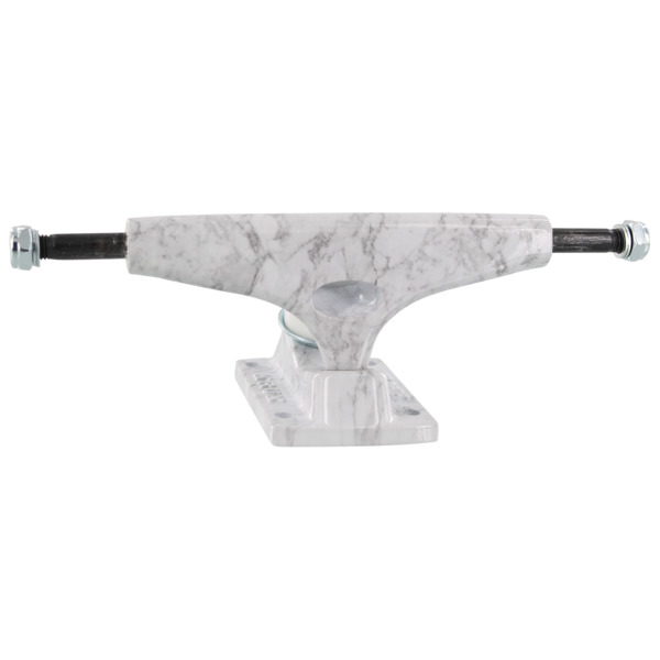 "Krux Trucks DLK Standard White Marbs Skateboard Trucks - 5.35"" Hanger 8.0"" Axle (Set of 2)"