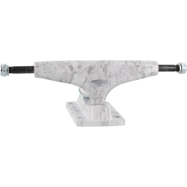 """Krux Trucks DLK Standard White Marbs Skateboard Trucks - 5.625"""" Hanger 8.25"""" Axle (Set of 2)"""