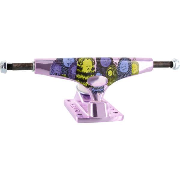 """Krux Trucks Nora Vasconcellos Pro Standard Krome Purple Skateboard Trucks - 5.35"""" Hanger 8.0"""" Axle (Set of 2)"""