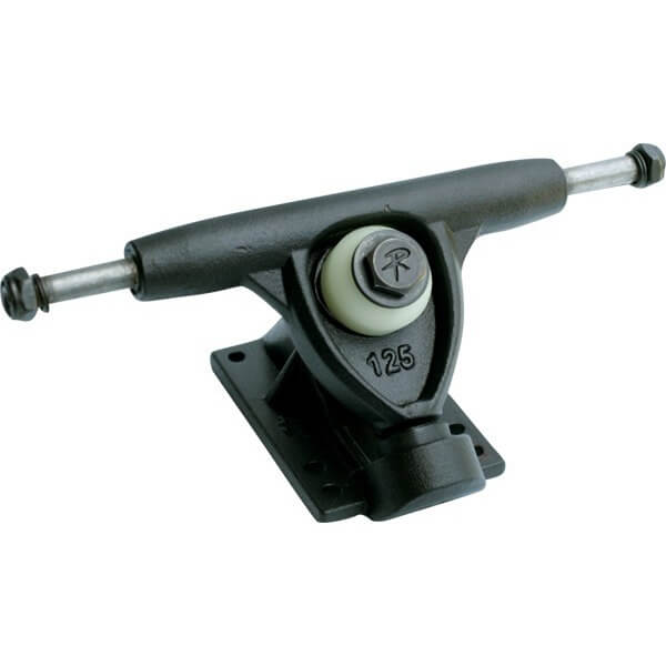 "Randal Trucks R II 125mm 42 Degree Black Skateboard Reverse Kingpin Trucks - 5.0"" Hanger 7.6"" Axle (Set of 2)"