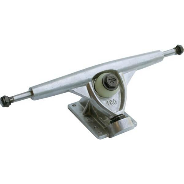 "Randal Trucks R II 180mm 50 Degree Polished Skateboard Reverse Kingpin Trucks - 7.0"" Hanger 9.75"" Axle (Set of 2)"