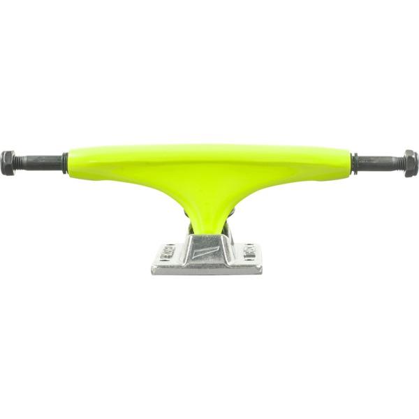 "Tensor Trucks Alloy Yellow / Raw Skateboard Trucks - 5.5"" Hanger 8.25"" Axle (Set of 2)"