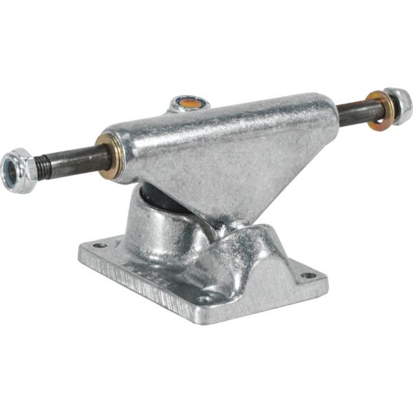 "Tracker Trucks 85mm Classic Midtrack Silver Skateboard Trucks - 3.75"" Hanger 6.0"" Axle (Set of 2)"