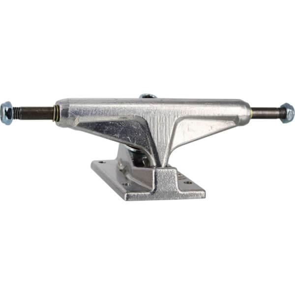 """Venture Trucks Polished Low Silver Skateboard Trucks - 5.0"""" Hanger 7.75"""" Axle (Set of 2)"""