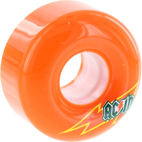 Acid Chemical Wheels Funner Skateraid Orange Skateboard Wheels - 56mm 86a (Set of 4)