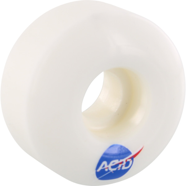 Acid Chemical Wheels Type A Space White Skateboard Wheels - 54mm 101a (Set of 4)