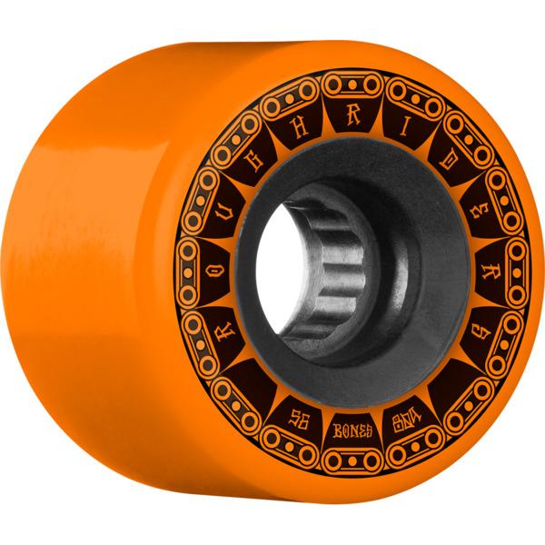 Bones Wheels ATF Rough Rider Tank Orange Skateboard Wheels - 56mm 80a (Set of 4)