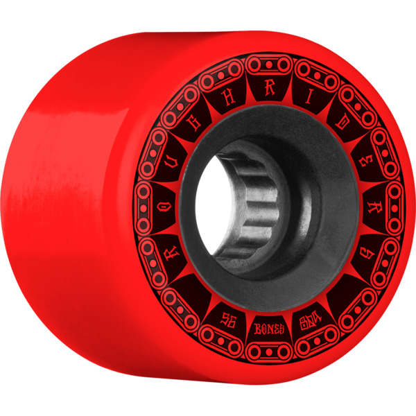 Bones Wheels ATF Rough Rider Tank Red Skateboard Wheels - 56mm 80a (Set of 4)