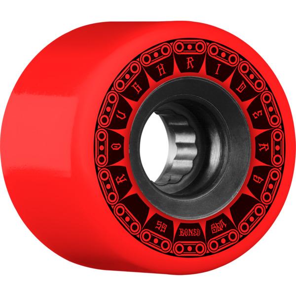 Bones Wheels ATF Rough Rider Tank Red Skateboard Wheels - 59mm 80a (Set of 4)
