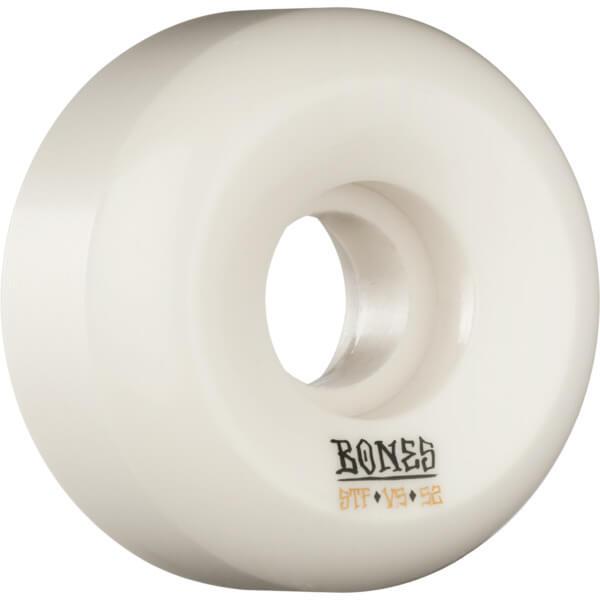 Bones Wheels STF Blanks V5 White Skateboard Wheels - 52mm 103a (Set of 4)