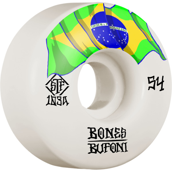 Bones Wheels Leticia Bufoni STF V1 Origin Skateboard Wheels - 54mm 83b (Set of 4)