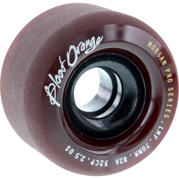 Blood Orange Liam Morgan Pro Series Midnight Maroon Skateboard Wheels - 70mm 82a (Set of 4)