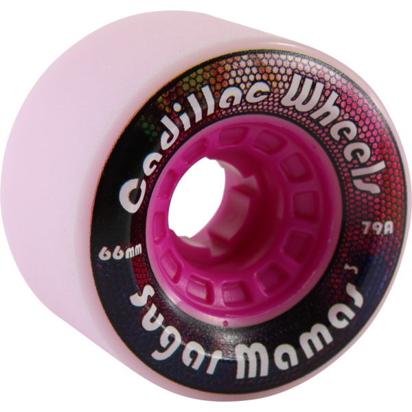 Cadillac Wheels Sugar Mamas Berry Skateboard Wheels - 66mm 78a (Set of 4)