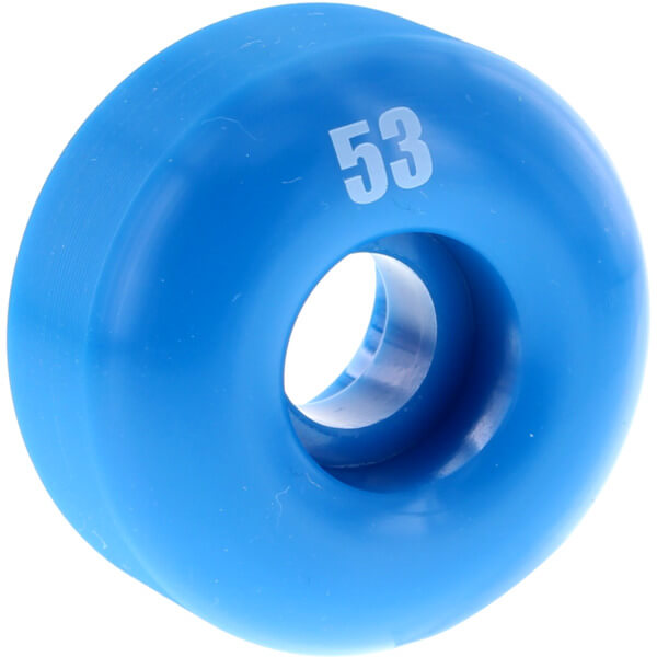Essentials Blue Skateboard Wheels - 53mm 99a (Set of 4)