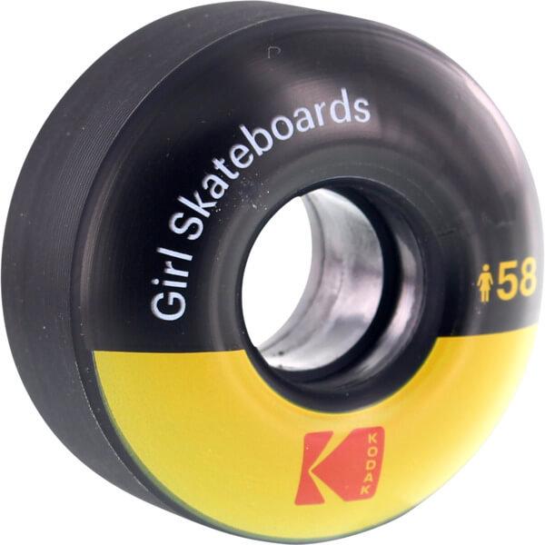 Girl Skateboards Kodak Black Yellow Skateboard Wheels