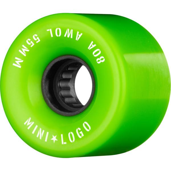 Mini Logo ATF A.W.O.L Green Skateboard Wheels - 55mm 80a (Set of 4)