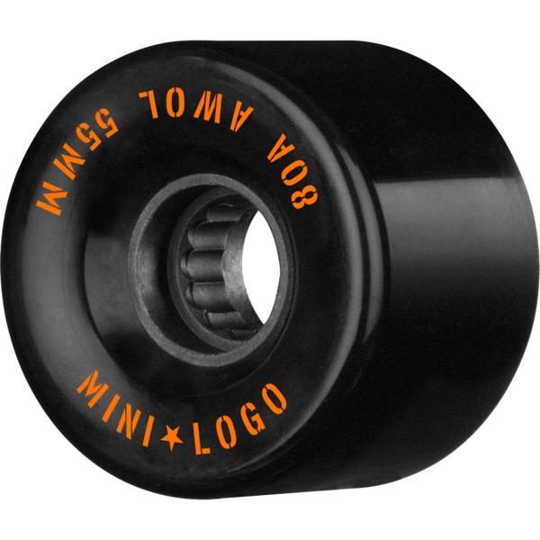 Mini Logo ATF A.W.O.L Black Skateboard Wheels - 55mm 80a (Set of 4)