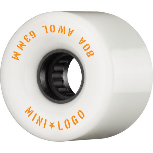 Mini Logo ATF A.W.O.L White Skateboard Wheels - 63mm 80a (Set of 4)