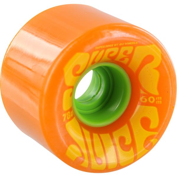 OJ Wheels Super Juice Citrus Orange Skateboard Wheels - 60mm 78a (Set of 4)