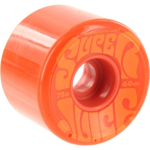 OJ Wheels Super Juice Orange Skateboard Wheels - 60mm 78a (Set of 4)