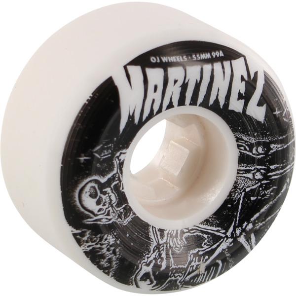 OJ Wheels Milton Martinez Smoke Bros White Skateboard Wheels - 55mm 99a (Set of 4)