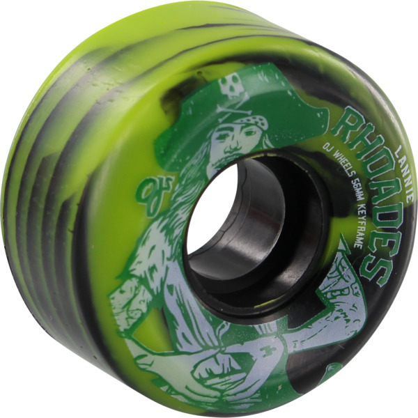 OJ Wheels Lannie Rhoades Keyframe White Skateboard Wheels - 56mm 87a (Set of 4)