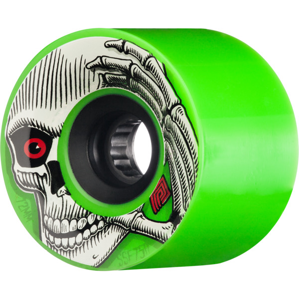 Powell Peralta Kevin Reimer Green Skateboard Wheels - 72mm 75a (Set of 4)
