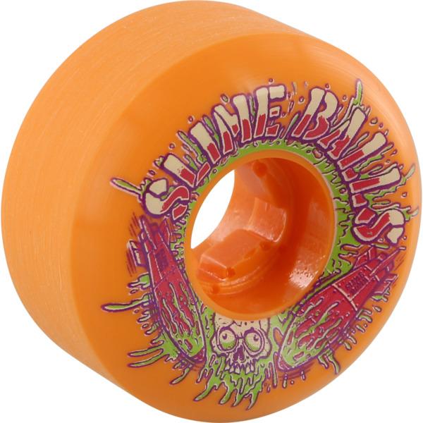 Santa Cruz Skateboards Slimeballs Slime Bombs Speed Balls Orange Skateboard Wheels - 54mm 99a (Set of 4)
