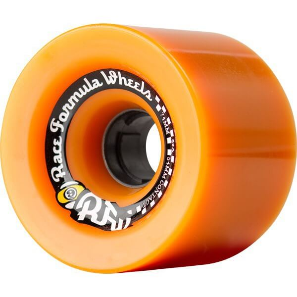 Sector 9 Offset Race Formula Orange Skateboard Wheels - 74mm 82a (Set of 4)