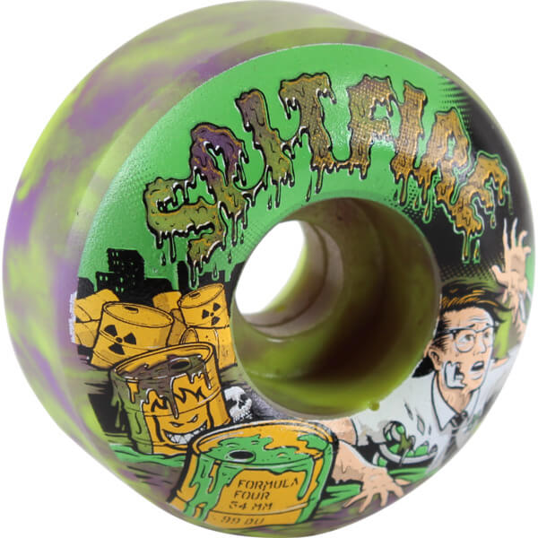 Spitfire Wheels Formula Four Classic Toxic Apocalypse