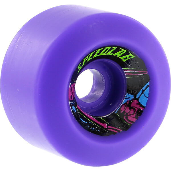 Speedlab Wheels Cruisers Violet Skateboard Wheels - 60mm 90a (Set of 4)