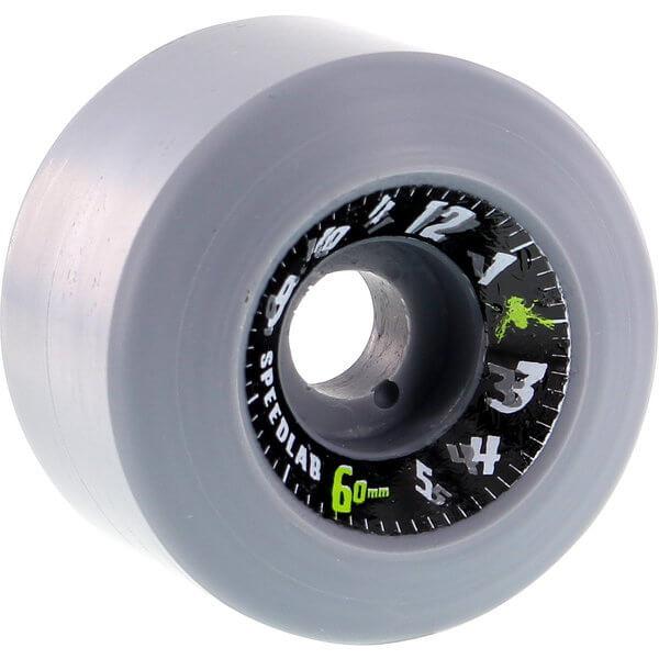 Speedlab Wheels Time Flies Grey Skateboard Wheels - 60mm 98a (Set of 4)