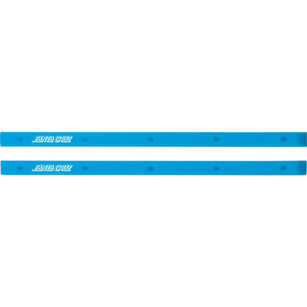 Santa Cruz Skateboards Slimline Cyan Skateboard Board Rails