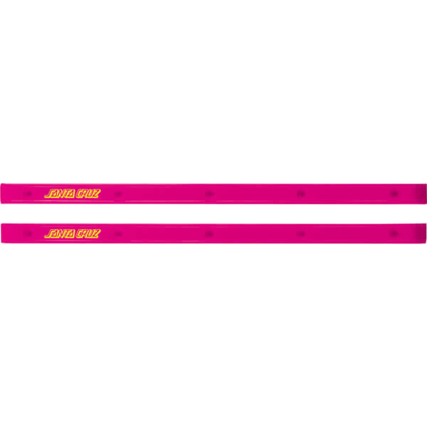 Santa Cruz Skateboards Slimline Pink Skateboard Board Rails