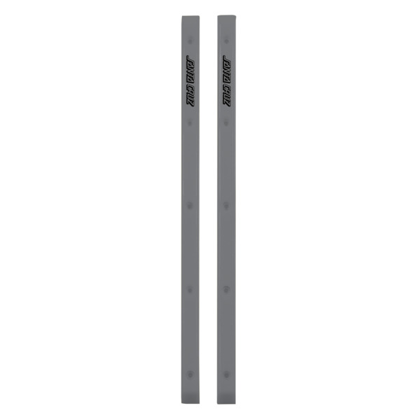 Santa Cruz Skateboards Slimline Silver Skateboard Board Rails
