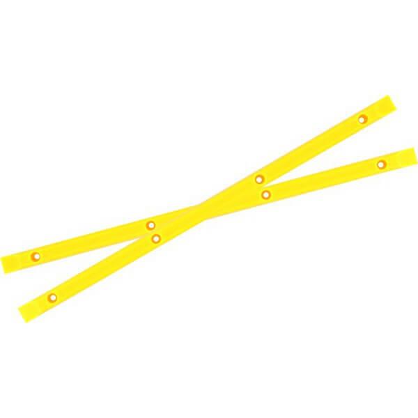 Yocaher Skateboards Neon Yellow Skateboard Board Rails