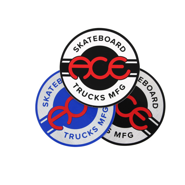 """Ace Trucks 1"""" Seal Assorted Colors Skate Sticker"""