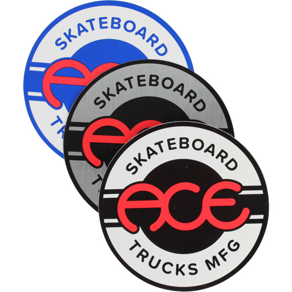 "Ace Trucks 4"" Seal Assorted Colors Skate Sticker"