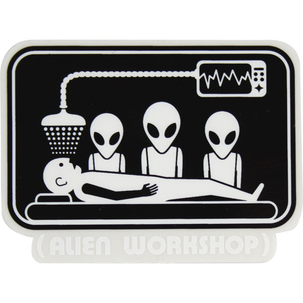 Alien Workshop Abduction Decal Skate Sticker