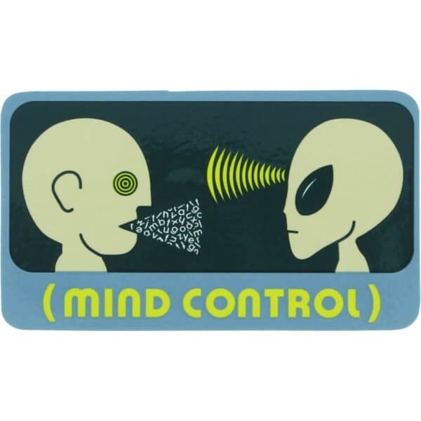 Alien Workshop Mind Control Skate Sticker