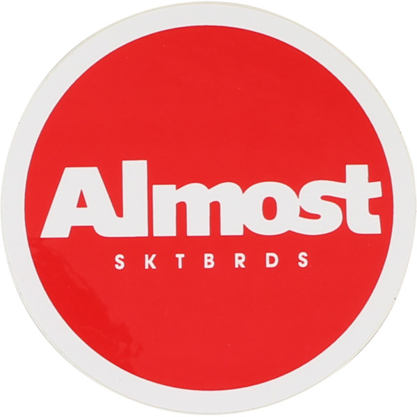 Almost Skateboards Branding Skate Sticker